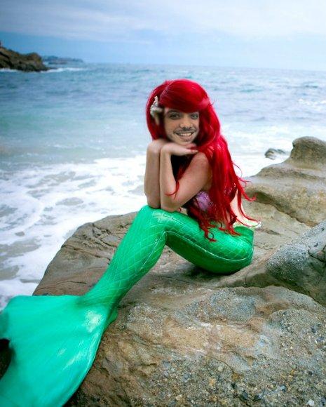 Você já sabe que o melhor amigo peixe desta princesa não seria o Linguado, mas sim o Safado.