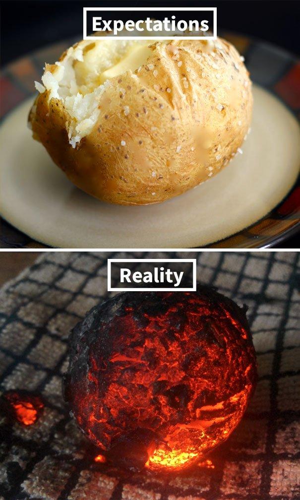 "funny food fails expectations vs reality 39 5a43c2714f079  605 - ""차라리 죽여줘...."" 실패해서 더 '웃픈' 지옥에서 온 요리 모음(+18)"