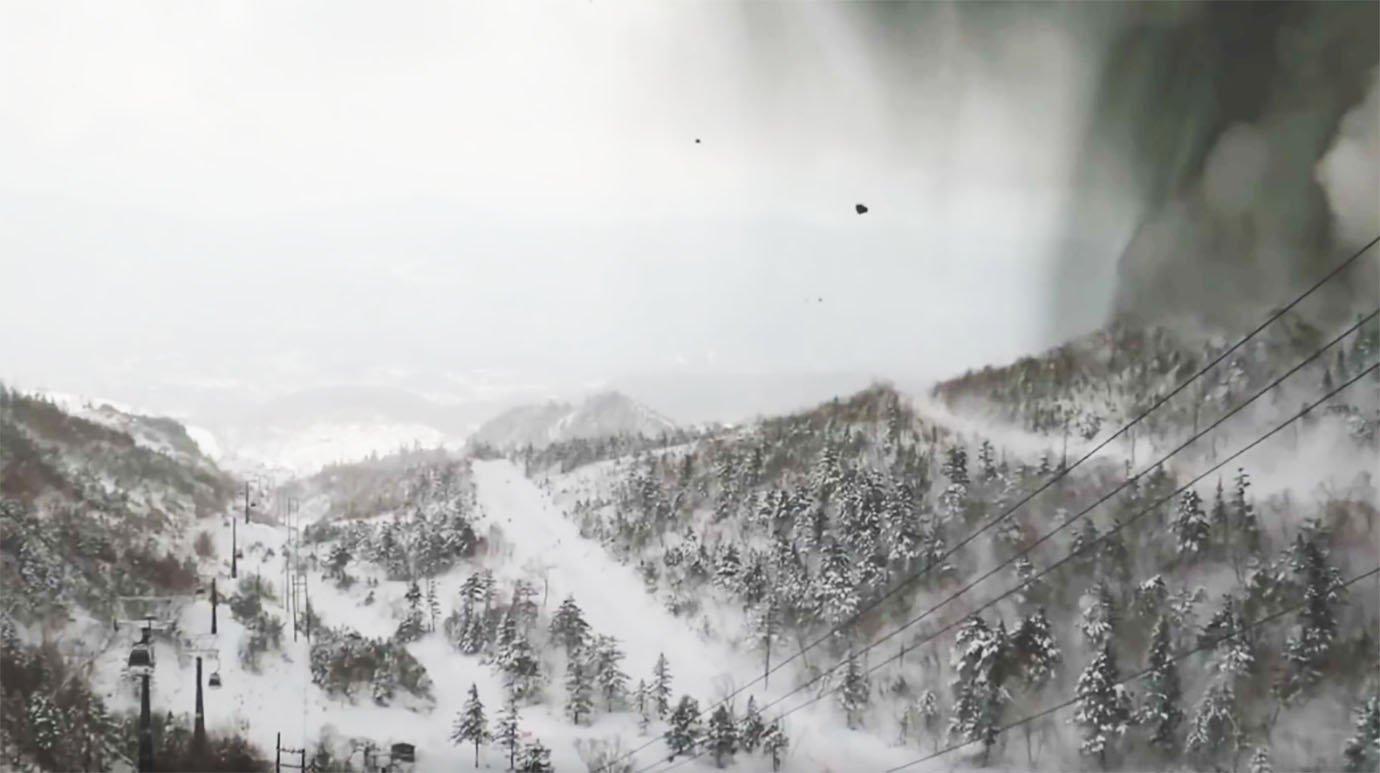 草津白銀山 噴火