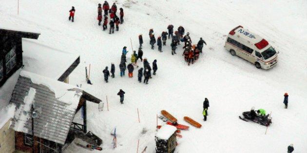 草津白根山噴火 スキー場