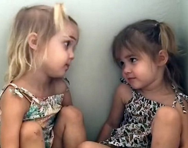 milaemma1 - Two-Year-Old Twins Try To Decide On A Career. Their Has Hilarious Response Internet In Laughter