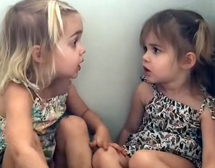 milaemma2 - Two-Year-Old Twins Try To Decide On A Career. Their Has Hilarious Response Internet In Laughter