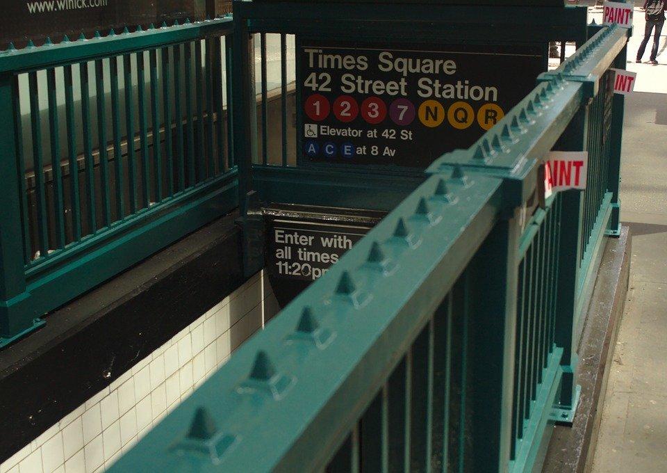 뉴욕, 지하철, Mta, 맨해튼, 기차, 수송, 도시의, 새, 도시, 아메리카, 역, 출퇴근, 전송