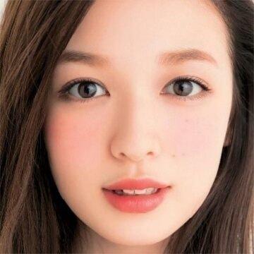 「眉尻が上がっている形は、丸顔タイプ」の画像検索結果
