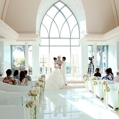 Image result for ハワイで結婚式 チャペル