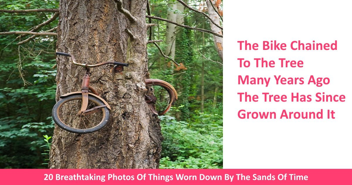 agedphotos - 20 Breathtaking Photos Of Things Worn Down By The Sands Of Time