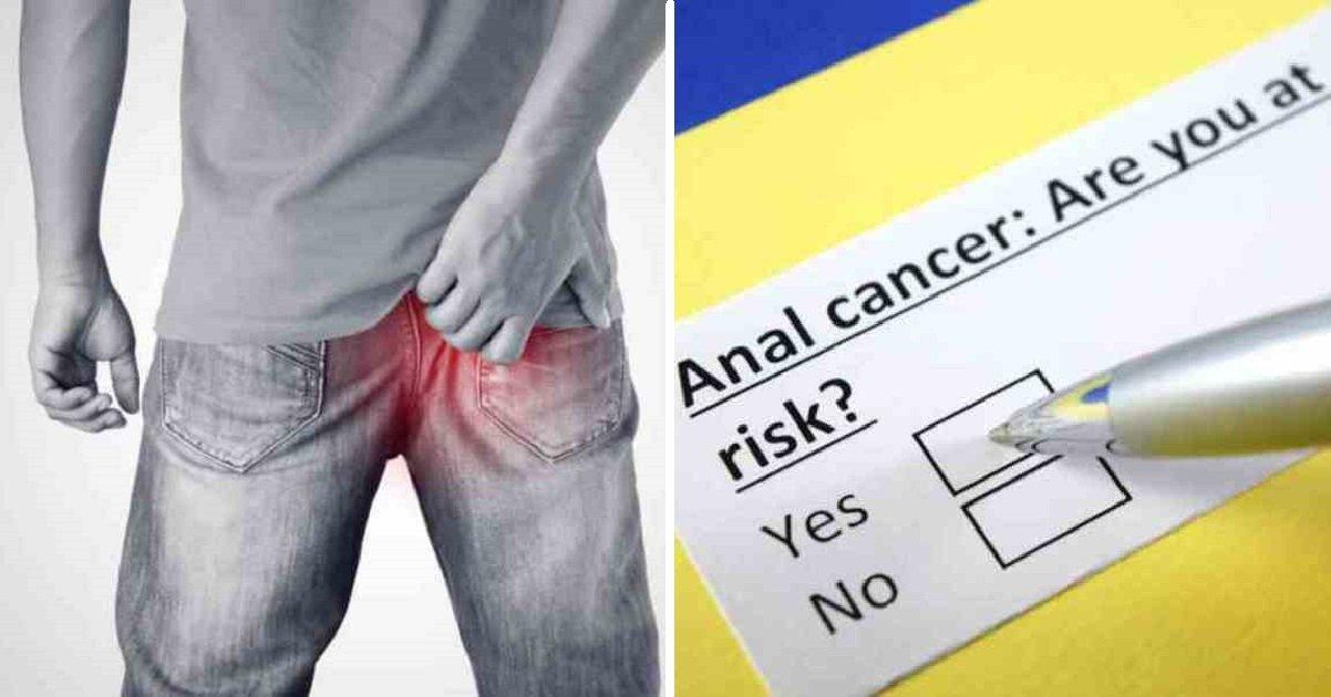 analcancer2 1.jpg?resize=1200,630 - Seis sinais iniciais de câncer anal que as pessoas têm vergonha de falar sobre