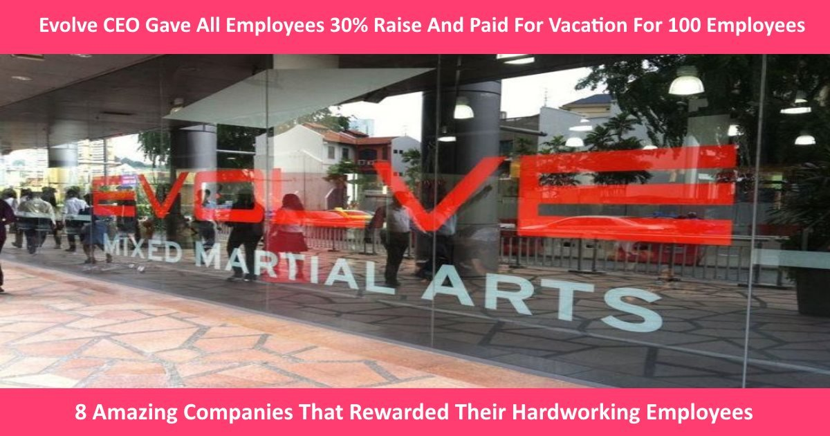 awesomeemployers.jpg?resize=1200,630 - 8 Amazing Companies That Rewarded Their Hardworking Employees