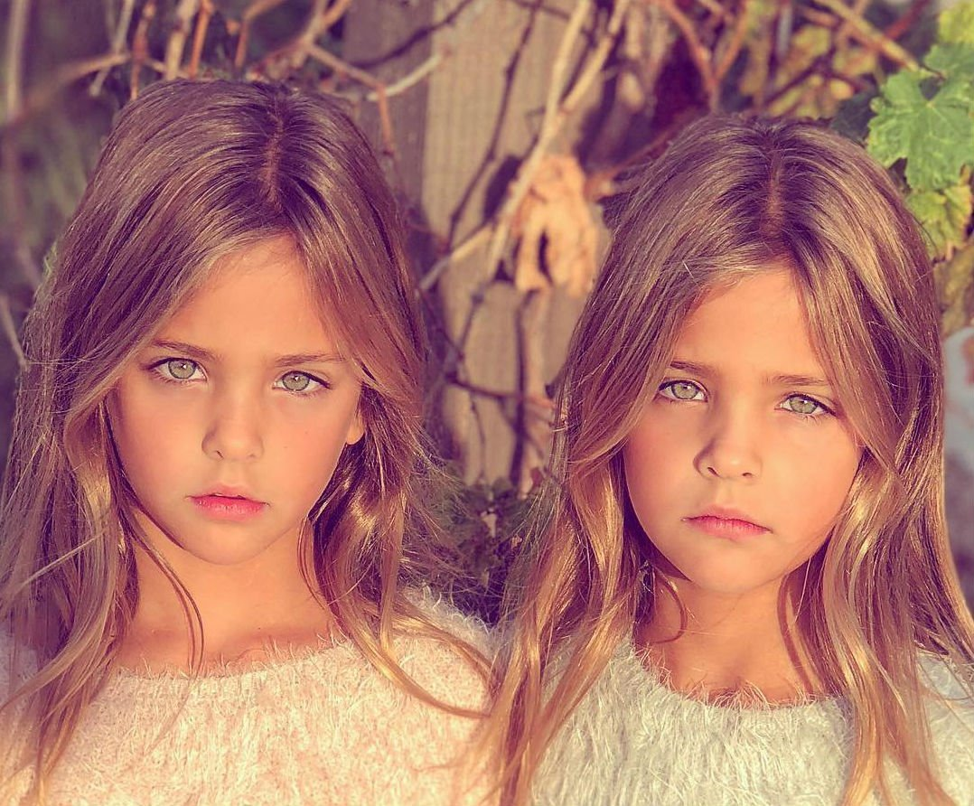 baby 9 - Twin Sisters Take On The Title For The Most Beautiful Twins In The World