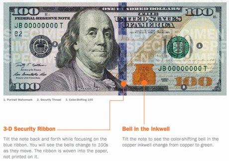 「新100ドル札」の画像検索結果