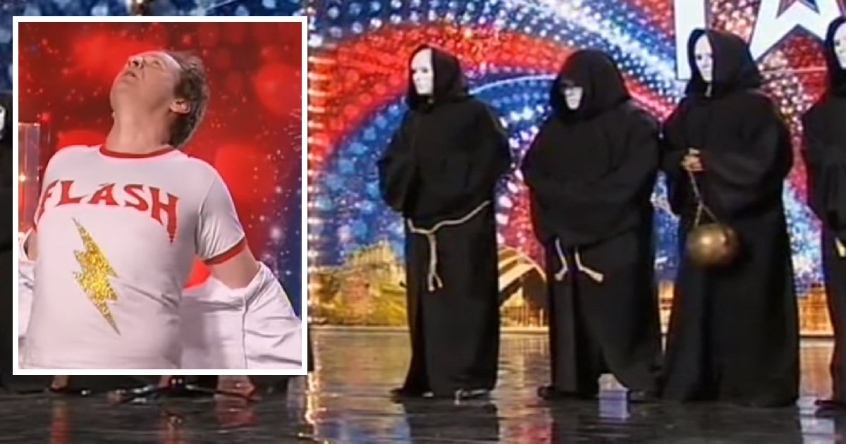 bgt 1.png?resize=300,169 - Chippendoubles' Robe Unveiling Performance Amuses Britain's Got Talent Judges, Simon Says It's His Favorite Ever