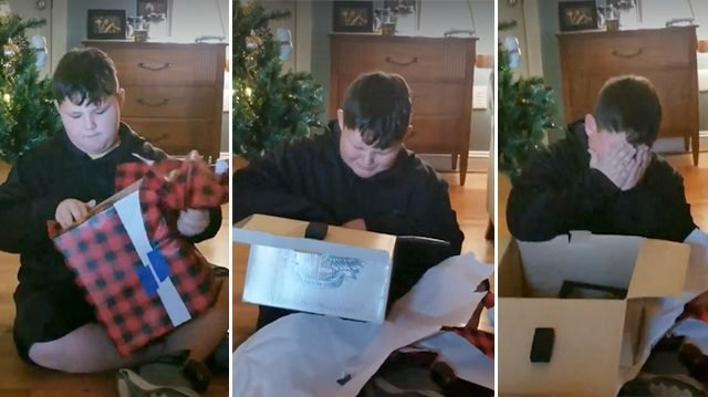 Boy devastated by loss of twins gets a gift from mom—but when he opens it, he falls into silence