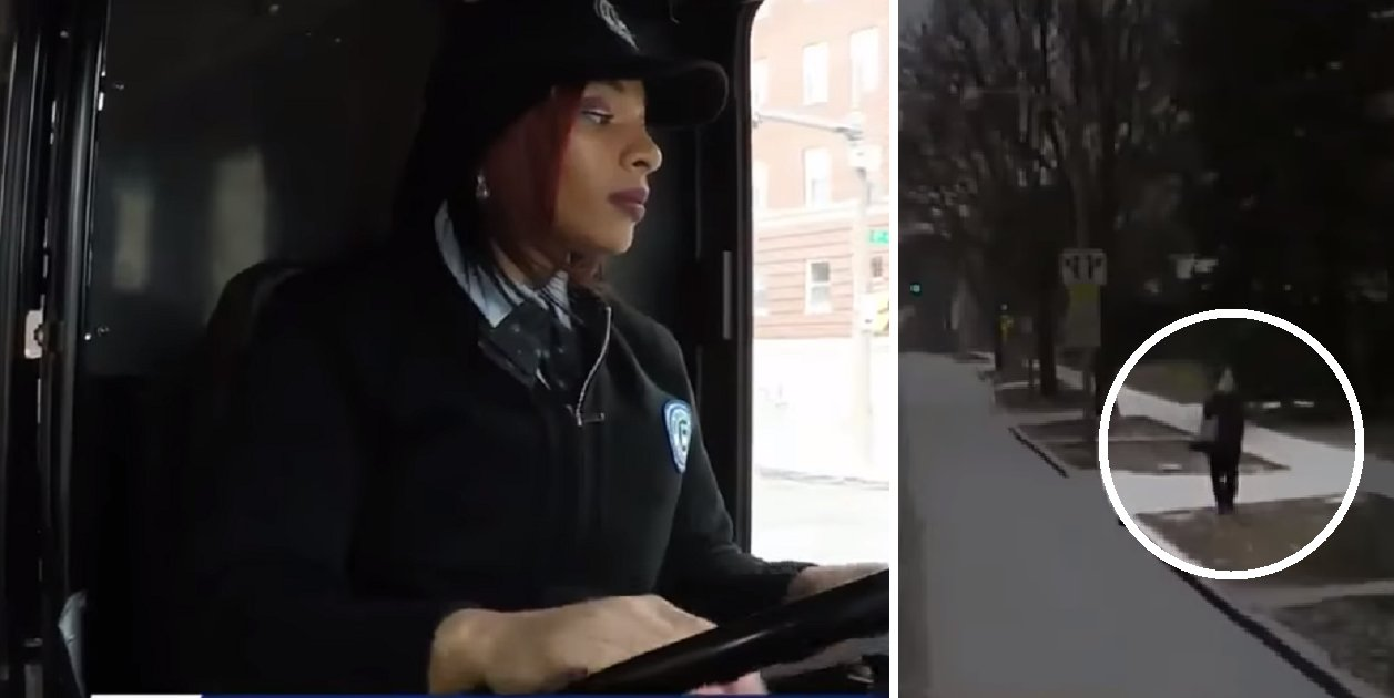 busdriver2 1 - Bus Driver Pulls Over After Seeing Woman Hunching On The Sidewalk