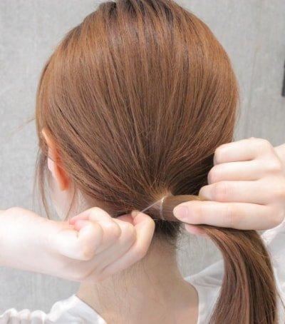 can immediately manage 18 ponytail hair arrangements 02 5 400x454 - 即マネできる!ポニーテールのヘアアレンジ18選
