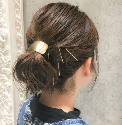 can immediately manage 18 ponytail hair arrangements 08 1 400x409 - 即マネできる!ポニーテールのヘアアレンジ18選