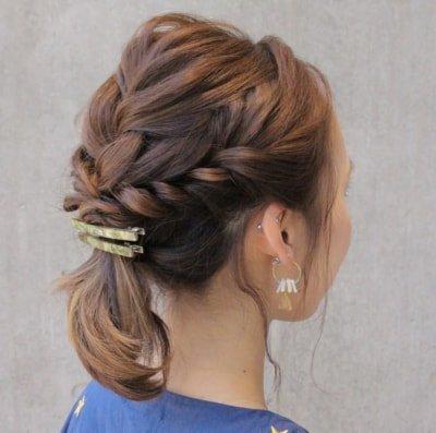 can immediately manage 18 ponytail hair arrangements 10 1 400x397 - 即マネできる!ポニーテールのヘアアレンジ18選