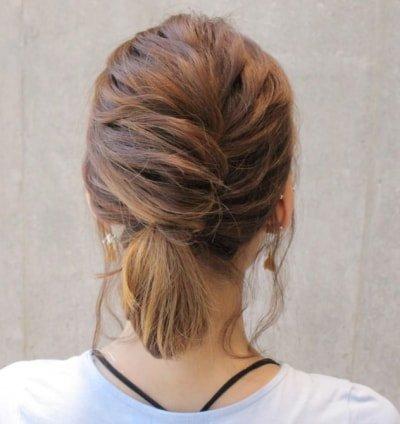 can immediately manage 18 ponytail hair arrangements 11 2 400x424 - 即マネできる!ポニーテールのヘアアレンジ18選