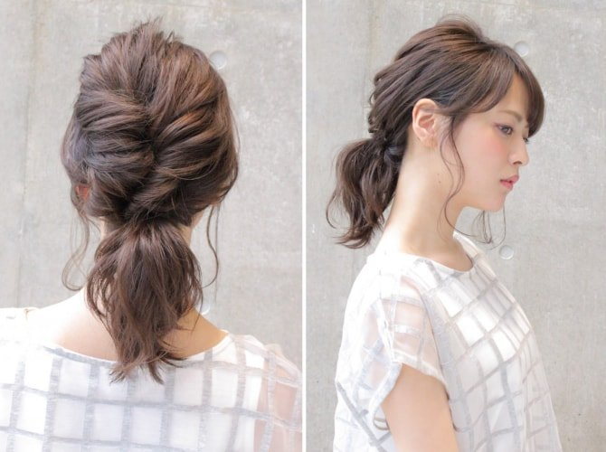 can immediately manage 18 ponytail hair arrangements 14 1 - 即マネできる!ポニーテールのヘアアレンジ18選