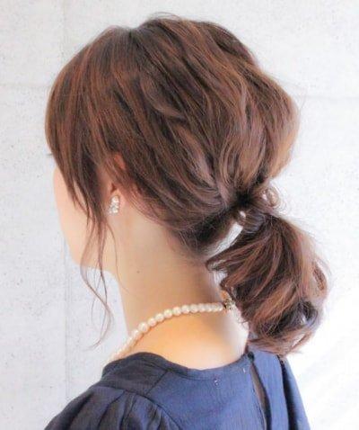can immediately manage 18 ponytail hair arrangements 17 1 400x478 - 即マネできる!ポニーテールのヘアアレンジ18選
