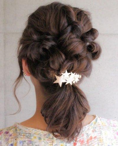 can immediately manage 18 ponytail hair arrangements 18 400x494 - 即マネできる!ポニーテールのヘアアレンジ18選
