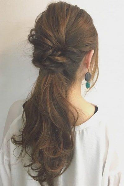 can immediately manage 18 ponytail hair arrangements 19 400x600 - 即マネできる!ポニーテールのヘアアレンジ18選