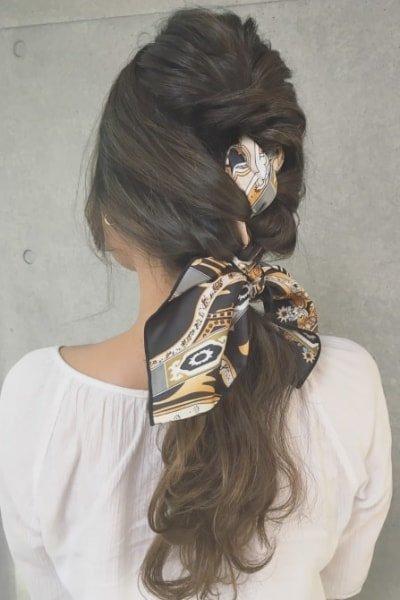 can immediately manage 18 ponytail hair arrangements 21 400x600 - 即マネできる!ポニーテールのヘアアレンジ18選