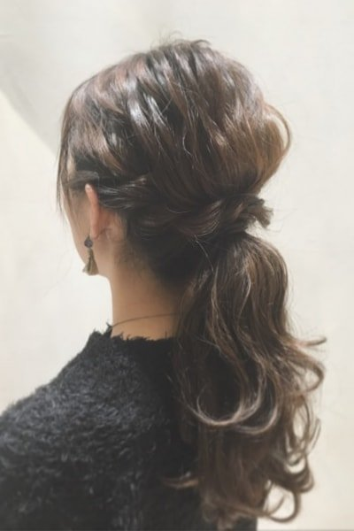 can immediately manage 18 ponytail hair arrangements 22 400x600 - 即マネできる!ポニーテールのヘアアレンジ18選