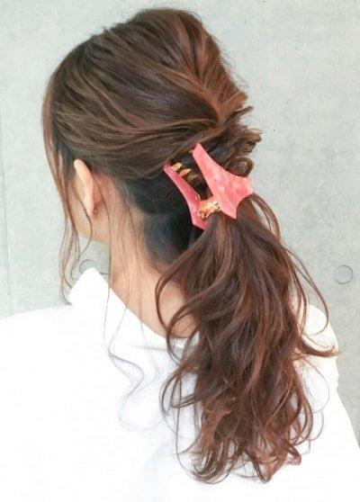 can immediately manage 18 ponytail hair arrangements 23 400x558 - 即マネできる!ポニーテールのヘアアレンジ18選