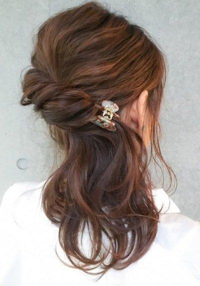 can immediately manage 18 ponytail hair arrangements 24 400x573 - 即マネできる!ポニーテールのヘアアレンジ18選