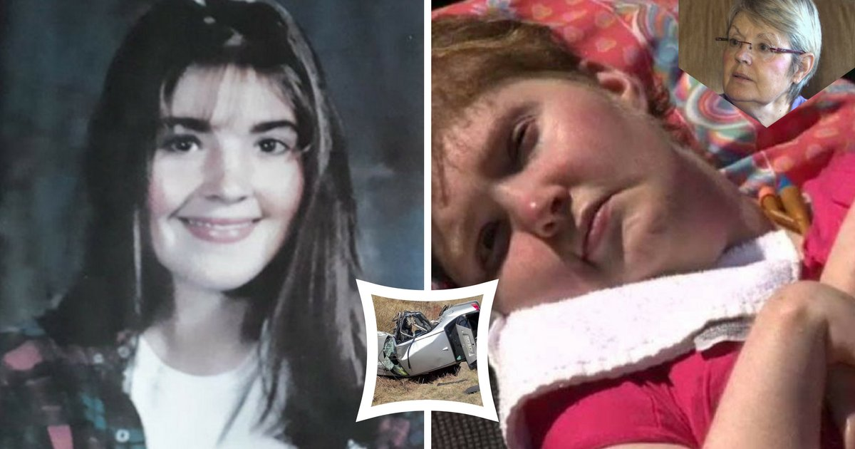 carcrashthumbnail.png?resize=1200,630 - Daughter's Brain Injured In Car Crash, 21 Years Later She Finally Communicates With Her Mother