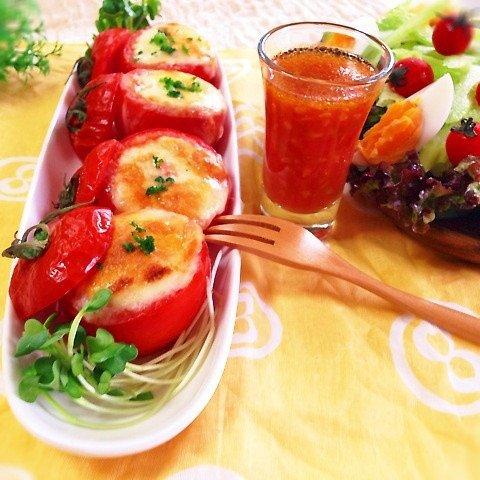 トマトのツナチーズ焼き에 대한 이미지 검색결과