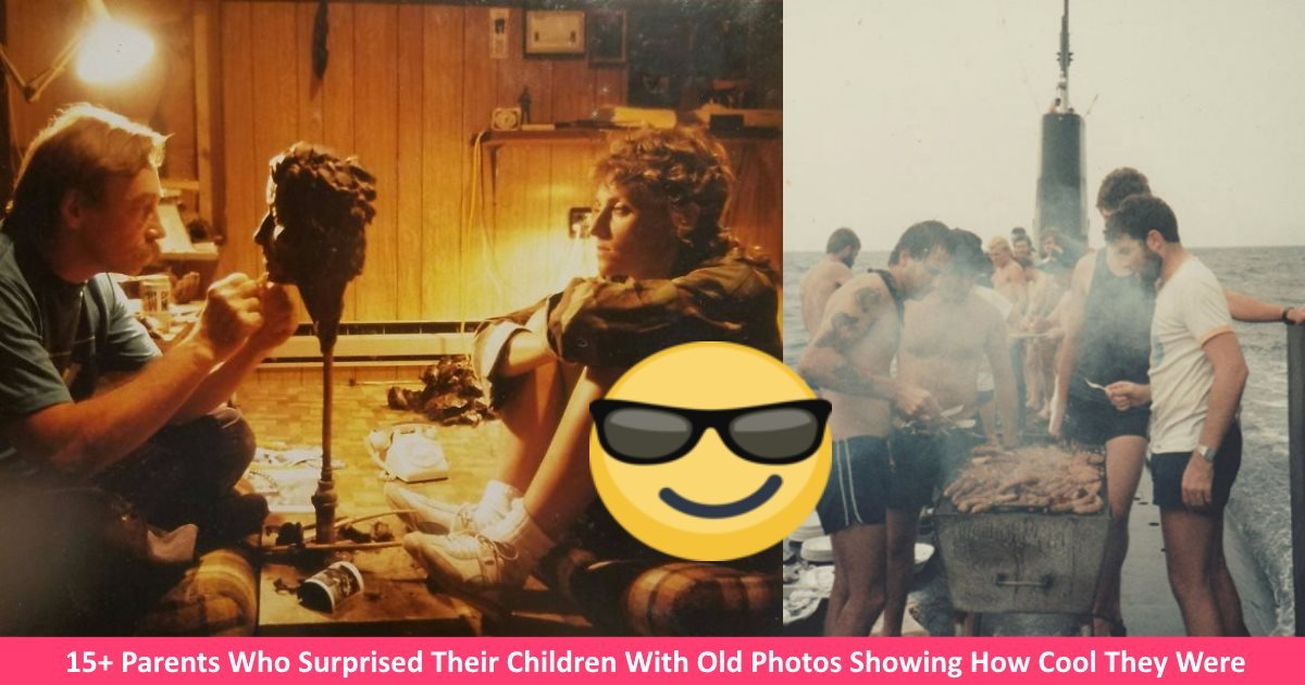 coolparents - 15+ Parents Who Surprised Their Children With Old Photos Showing How Cool They Were