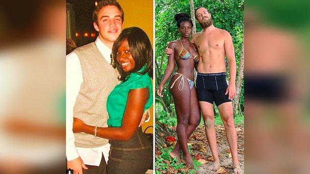 couples 10th anniversary transformation 1.jpg?resize=1200,630 - Casal publica foto celebrando 10 anos juntos e impressiona internet com aparência ainda mais jovem