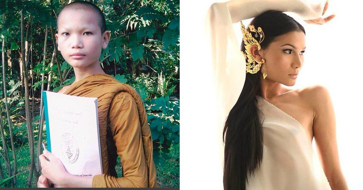 cove 1 1.jpg?resize=1200,630 - Monge budista muda de sexo e se torna uma modelo muito bem-sucedida
