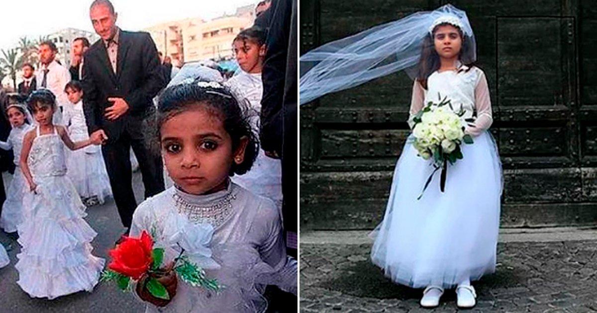 cove 2 - Sorprendentes fotografías que retratan la dura realidad de las Niñas que son obligadas a casarse con adultos