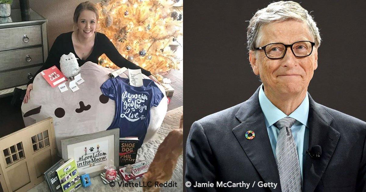 covefr.jpg?resize=1200,630 - Mujer recibe un regalo de su amigo secreto de Reddit y se sorprende al descubrir que fue Bill Gates