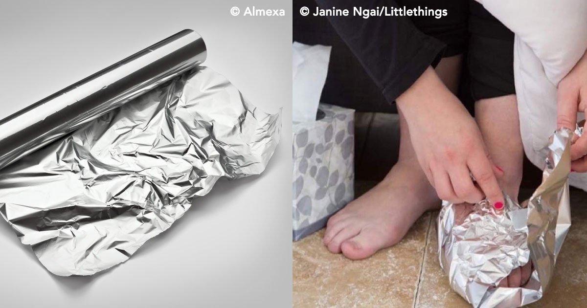 cover 26.jpg?resize=648,365 - Parece mágica, mas na verdade, envolver-se em papel alumínio pode ser muito benéfico
