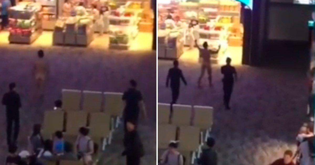 cover 4 3.png?resize=1200,630 - Hombre en aeropuerto de Tailandia causa terror al correr desnudo lanzando sus heces a las personas