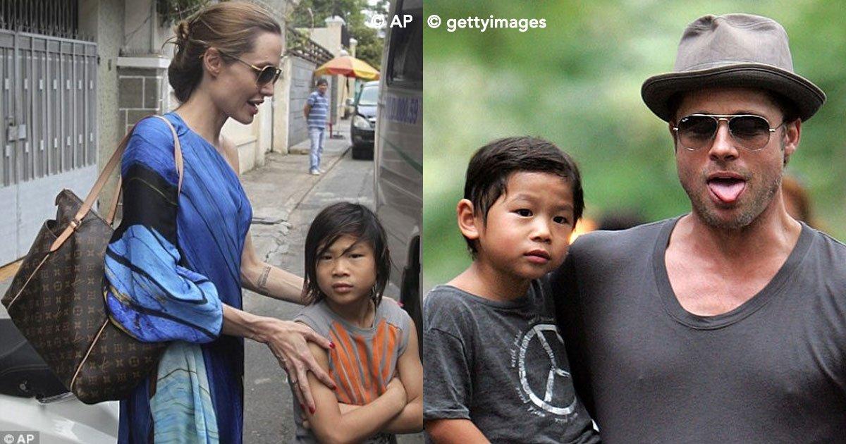 cover 44 - Pax el hijo adoptivo de Angelina Jolie y Brad Pit tuvo una historia muy triste, fue abandonado de bebé