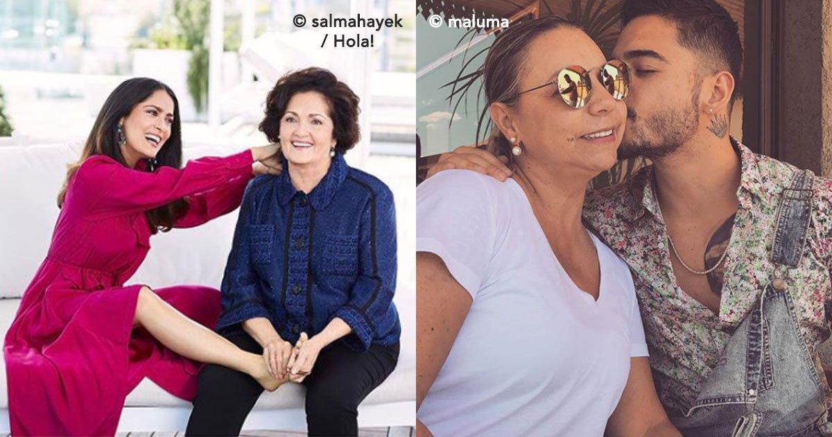 cover 45 - Estos famosos en verdad tienen una hermosa relación con su mamá, ¡son unos consentidos!