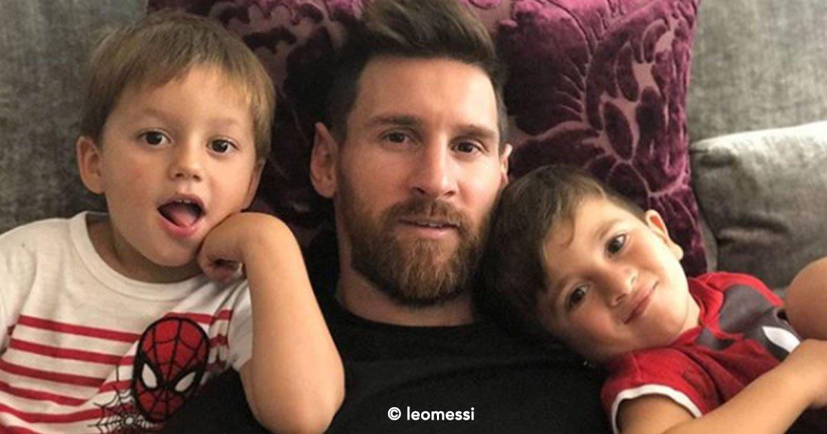 """cover 59.jpg?resize=1200,630 - Messi diz que seu filho de 5 anos já começou a reconhecer sua fama e que o chama de """"Leo Messi"""" ao invés de """"papai"""""""
