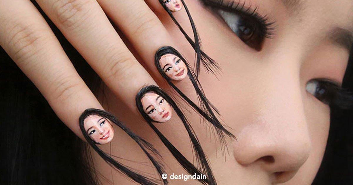 cover 60.jpg?resize=1200,630 - Espeluznantes selfies con uñas postizas que tienen cara y pelo