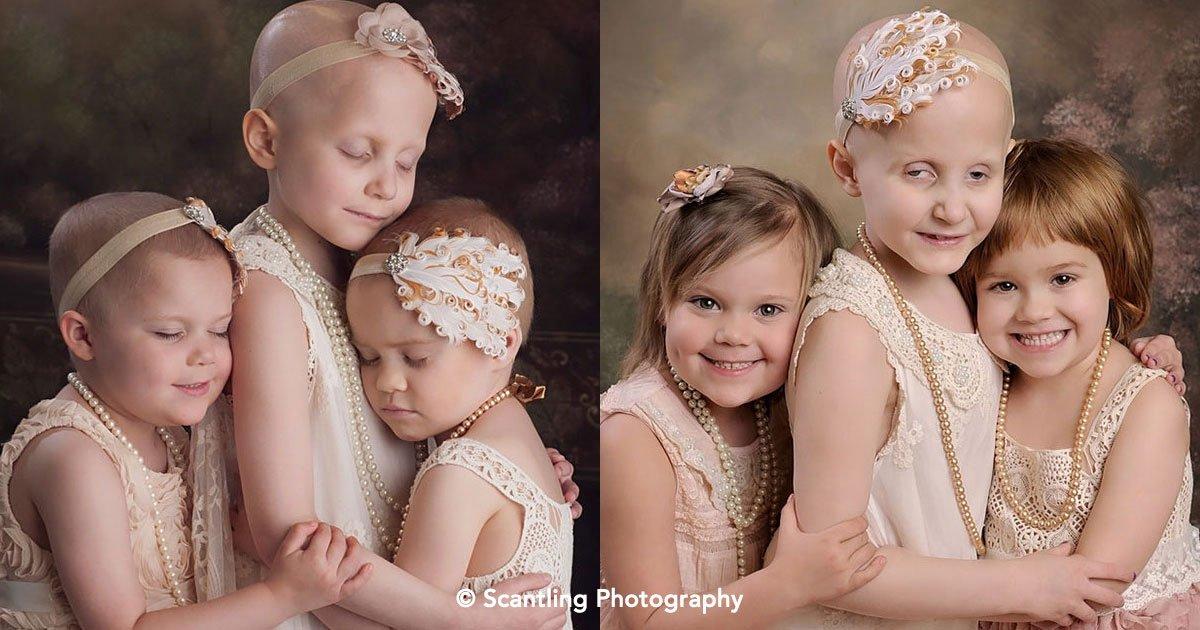 cover 65 - 3 niñas vencen el cáncer, sus fotografías se hacen virales