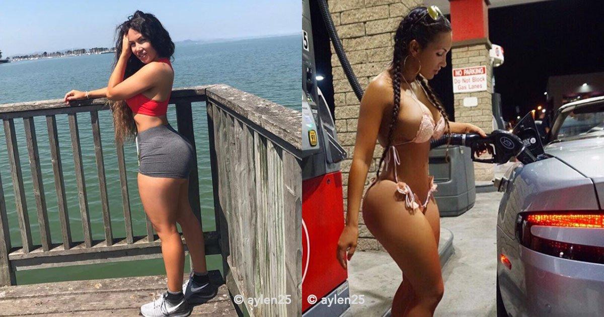 """cover 69.jpg?resize=412,232 - Apelidada de """"Kim Kardashian cubana"""", essa garota tem chamado a atenção nas redes sociais por seu belo corpo"""