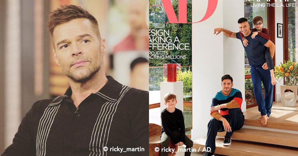 cover 85 - La respuesta que da Ricky Martin cuando sus hijos le preguntan por qué tienen 2 papás