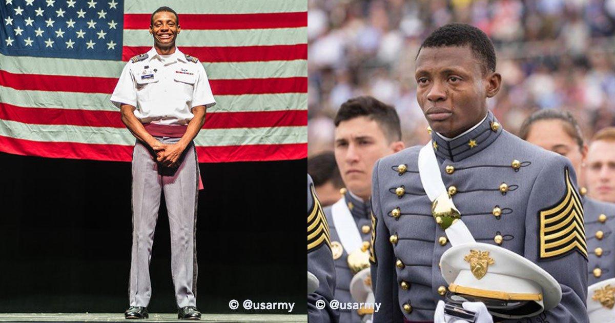 cover 99 - Inmigrante haitiano se graduó con honores del ejército norteamericano y su emoción causó revuelo en redes sociales