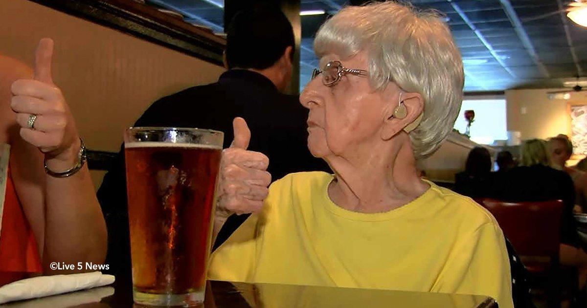 cover28 1.jpg?resize=1200,630 - Una mujer que cumplió 103 años asegura que la fórmula de su larga vida es beber cerveza diario