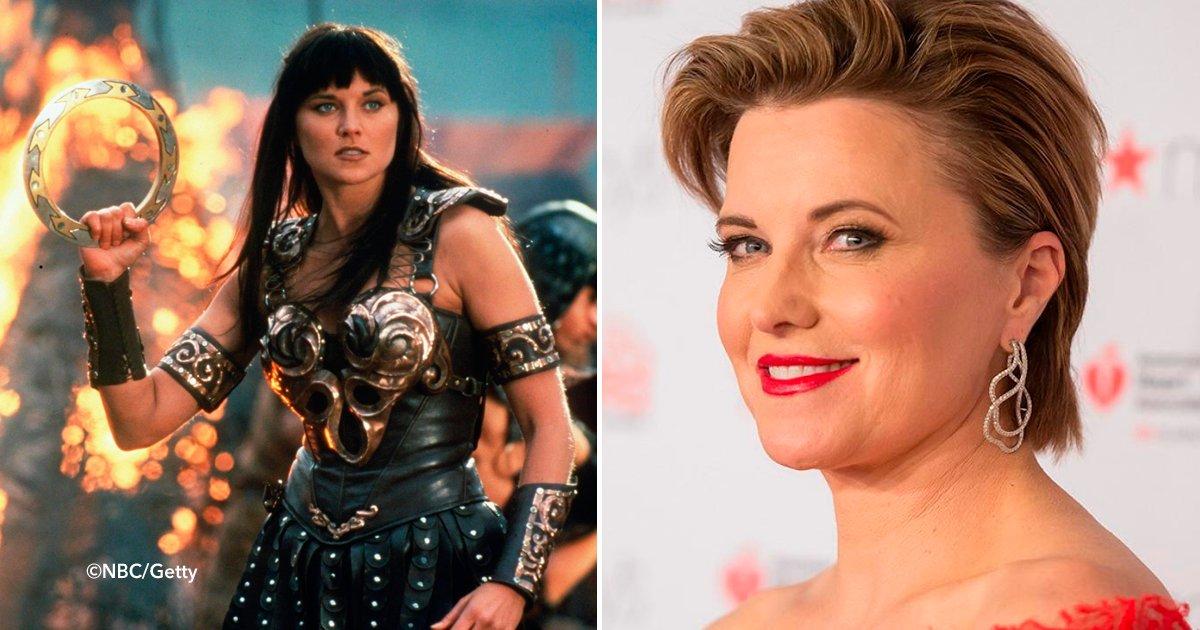 """cover66 1 - Así se ve Lucy Lawless 23 años después de interpretar a """"Xena, la princesa guerrera"""""""