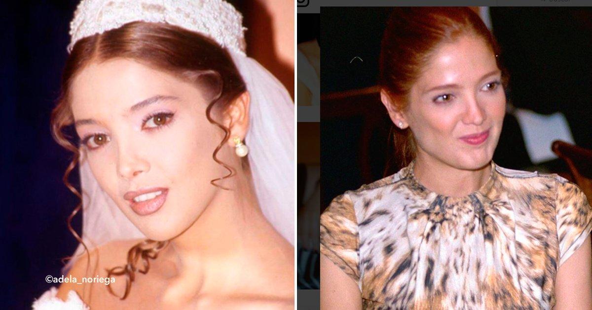 """cover699 - Adela Noriega, """"La reina de las telenovelas de los 90"""" actualmente luce increíble"""