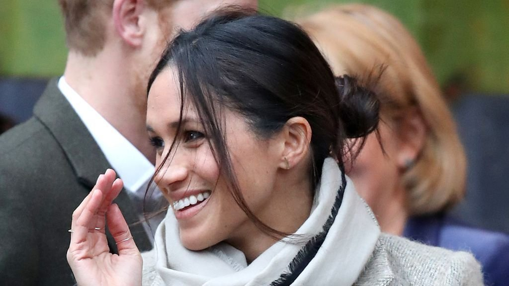 crop meghan style 2.jpg?resize=300,169 - Meghan Markle Breaks Royal Code Once Again, And This Time It Is Her Hairstyle!